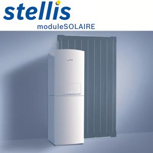 Chaudière Stellis Module Solaire - Blueactive